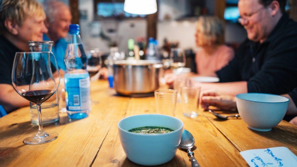 Iranische Suppe zum Jenaer Austausch!