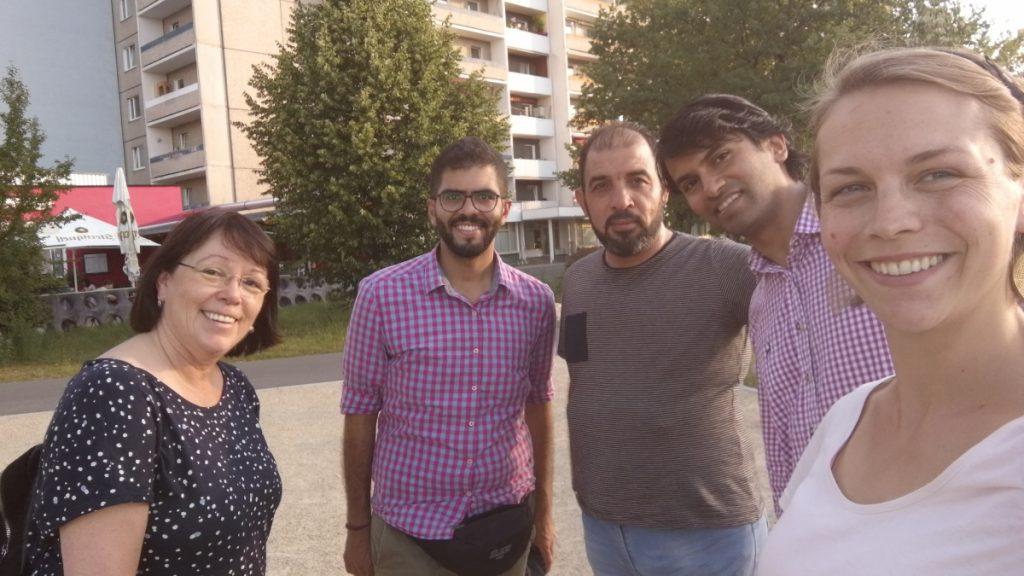 Die Kochgruppe Lobeda unterwegs in Lobeda!