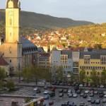Blick auf das Eichplatzareal / © Stadt Jena