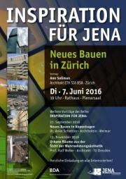 Plakat Neues Bauen in Zürich