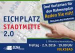 Plakat zur Ausstellung Rahmeplan