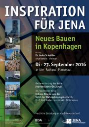 Plakat Neues Bauen in Kopenhagen