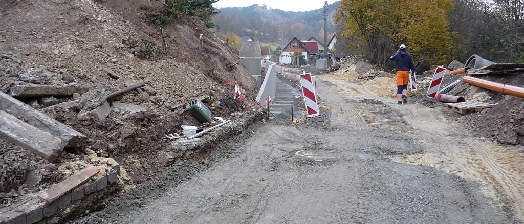 Bauarbeiten im Pennickental im Jahre 2011 - Foto 09 © Stadt Jena KSJ