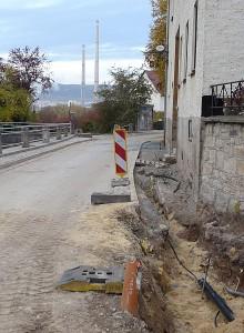 Bauarbeiten im Pennickental im Jahre 2011 - Foto 21 © Stadt Jena KSJ
