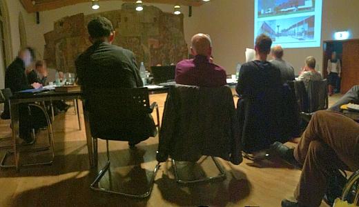 Sitzung des Stadtentwicklungsausschusses im Plenarsaal des Rathauses - Symbolbild © Stadt Jena KSJ