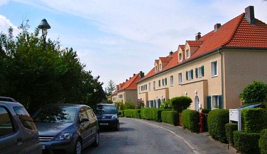 Die Neunkirchner Straße in Jena © Stadt Jena KSJ