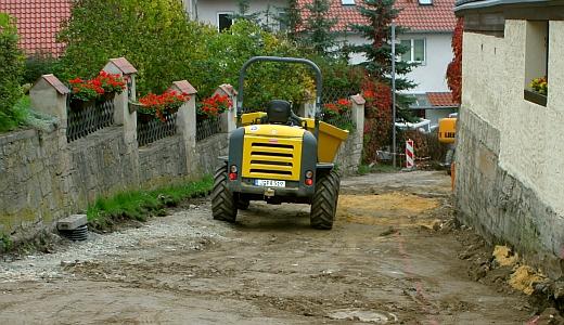 Strassenbauarbeiten von JenaWasser - Foto 09 © Stadt Jena KSJ