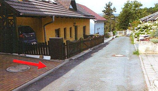 Oberflaechenentwaesserung Im Kraehmer in Woellnitz 2013 - Abbildung 1 © Stadt Jena KSJ
