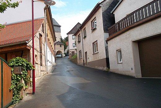 Der untere Teil der Luetzowstraße im Sommer 2015 - Foto 1 © Stadt Jena KSJ