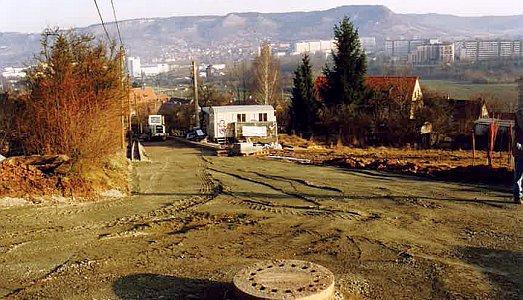Bauarbeiten Am Jagdberg 1994 - Foto © Stadt Jena KSJ