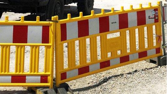 Ungern gesehen – aber notwendig Baustellenabsperrungen. - Foto © Stadt Jena Kristian Philler
