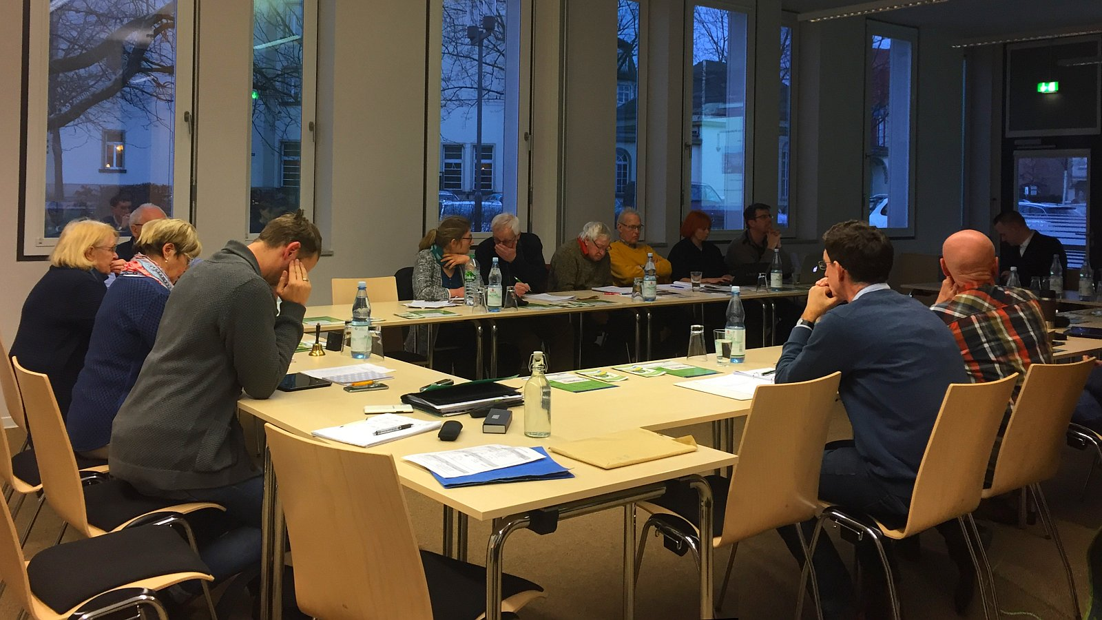Der Stadtentwicklungsausschuss tagt am Lutherplatz 3