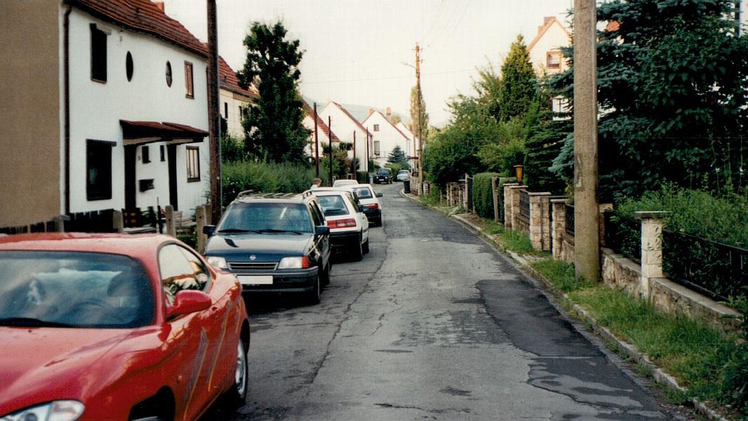 Die Julius-Schaxel-Straße im Jahre 1997