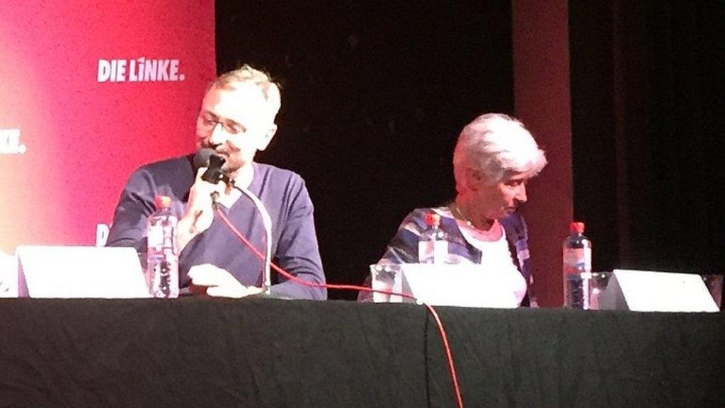 MdL Torsten Wolf und MdL Dr. Gudrun Lukin im F-Haus Jena