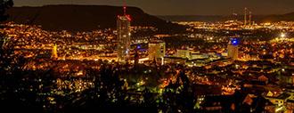 Überblick über die Stadt Jena
